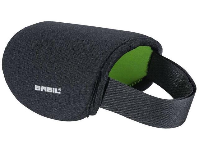 Basil Downtube Abdeckung für Elektroanschlüsse für Bosch Akku black lime